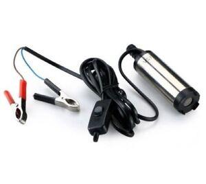 12v Mini Pompe Pour Diesel Huile Eau Mazout Transfert Pompe 150mm X 37mm Neuf Emballage De Marque NomméE