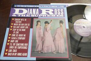 Diana Ross Supremes Orig Motown 25th Anniversary 1983 TV Special LP NM Vinyl