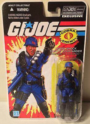 Clay Moore Club Exclusive FSS 8.0 MOC GI Joe Cobra Lt