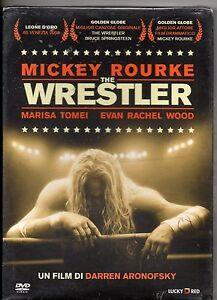 WRESTLER-DVD-MIKEY-ROURKE-MARISA-TOMEI-sealed-SIGILLATO-nuovo