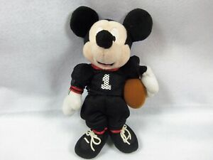 Disney-Mickey-Mouse-with-football-Plush-Toy-10-034-Soft-Doll-Stuffed