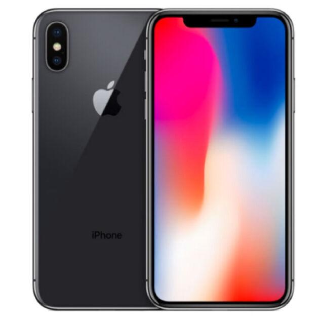 Apple iPhone X - 256GB - Space Grau (Ohne Simlock) Smartphone