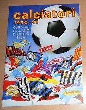 ED. L'UNITA'   ALBUM CALCIATORI PANINI   1990-91  COMPLETO  !!!!