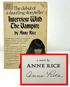 Anne Rice - Interview with the Vampire - SIGNED 1st 1st ARC / Preview Edition