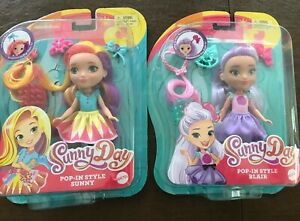 """Rox  6/"""" Dolls   LOT OF 2 Nickelodeon Sunny Day Pop-In Style sunny-blair"""