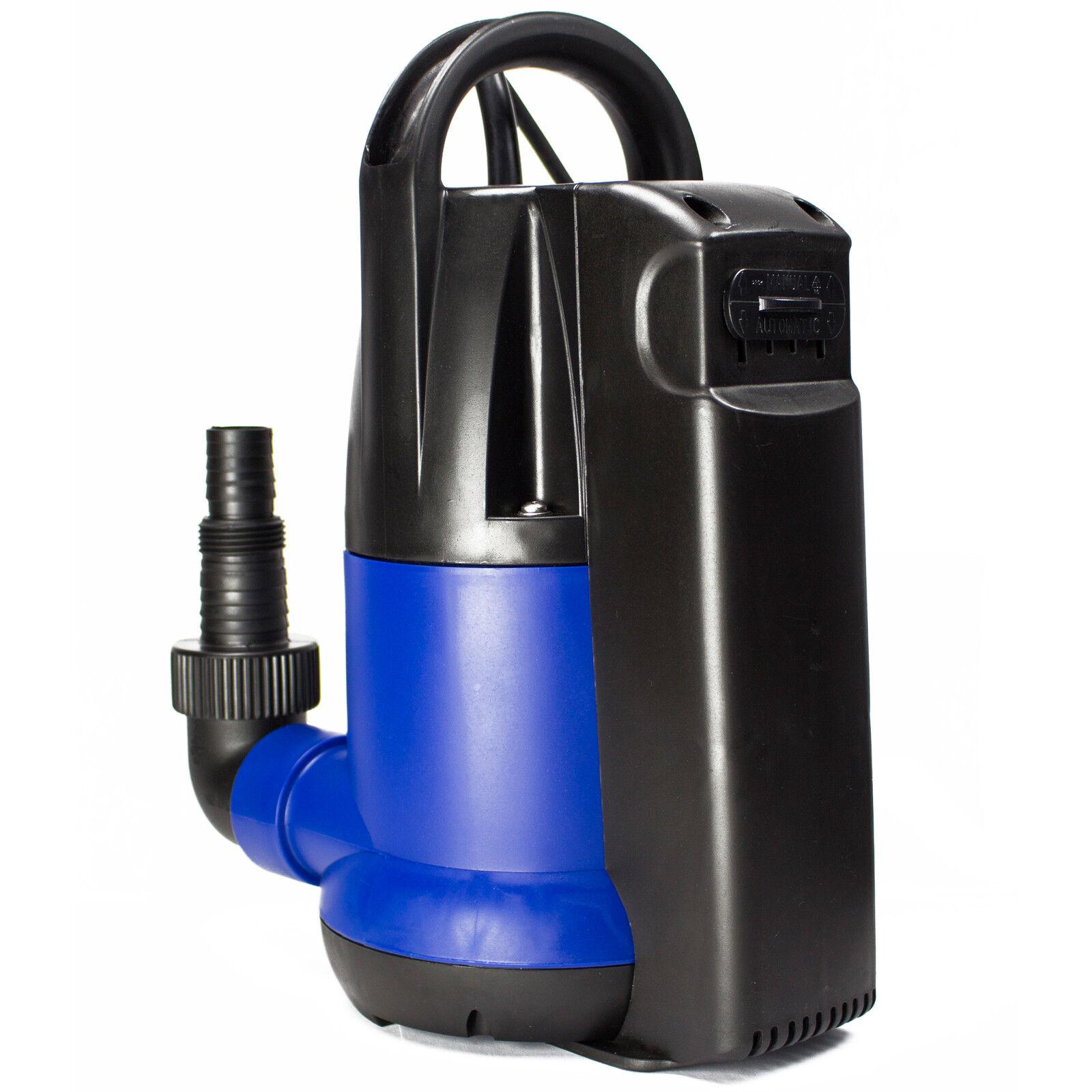 AWM POMPA SOMMERSA am-250-tk da giardino pompa pompa acqua 250w piatto saugend acqua limpida