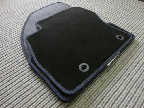 $$$ Original Lengenfelder Fußmatten passend für Toyota Aygo Doppelnaht BLAU $$