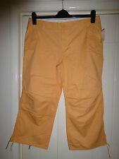 BNWT Brand New Tags GAP US 12 Uk 16 peach 3/4 trousers long shorts