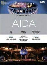 Verdi: Aida (La Fura de Baus) [DVD] PAL IMPORT, New DVDs