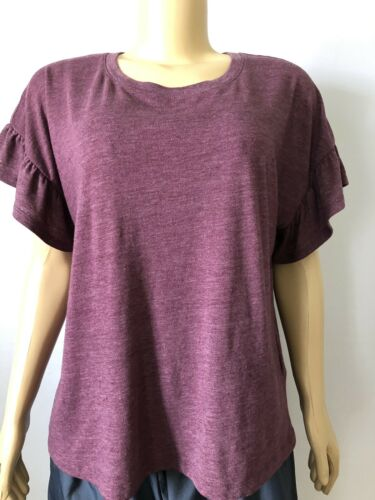 Calvin Klein Jeans Womens Medium Purple Pink  shir