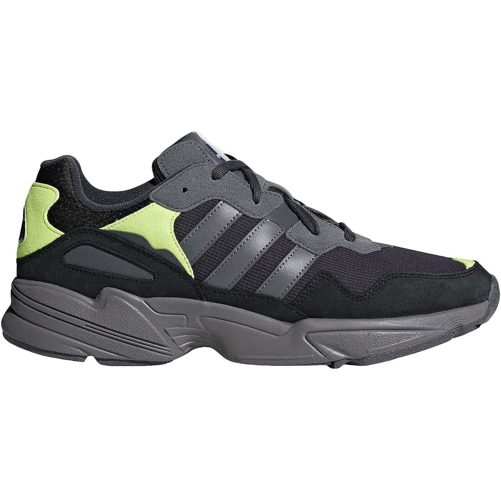 Adidas Originals Mens YUNG-96 Lace Up Casual Trainers Turnschuhe schuhe - Carbon