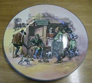 Image is loading Vintage-Royal-Doulton-decorative-plate-Roger-Solem-Cobbler- & Vintage Royal Doulton decorative plate Roger Solem Cobbler . English ...