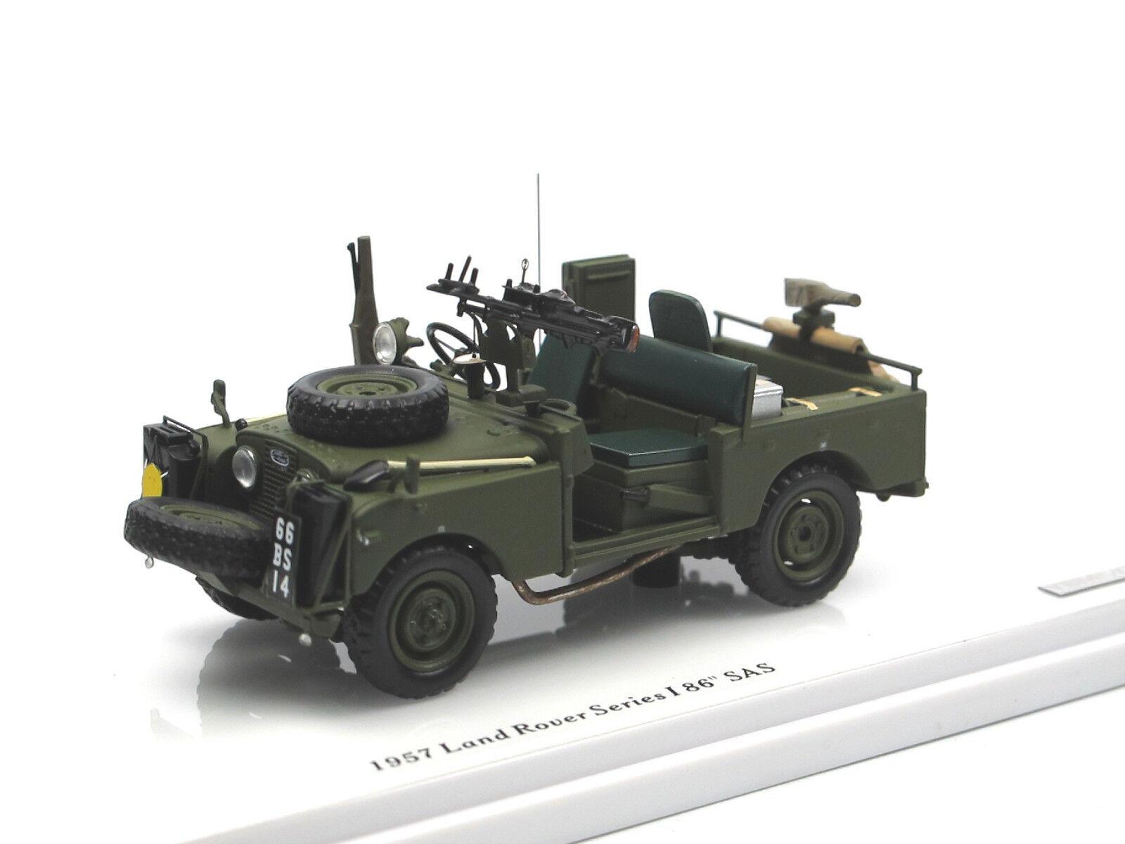 TSM MODEL 1957 LAND ROVER SERIES I 86  SAS Patrol Vehicle 1 43