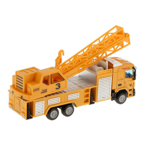 1:64 Crane Lifter Diecast Telescopic Truck Construction Vehicle Model Car