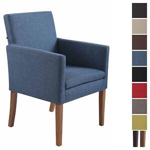 Chaise de Salle à Manger WEBB Tissu Chaise Scandinave Confortable ...