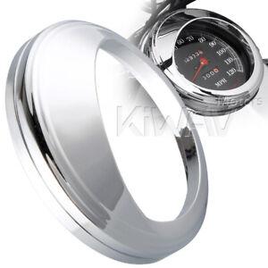 aluminum-chrome-5-034-speedometer-visor-sun-shade-for-Harley-039-99-039-15-Fat-Boy-FLSTF