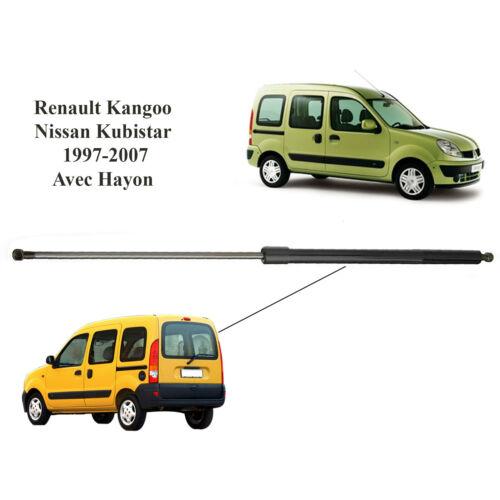 Vérin de hayon pour Renault Kangoo /& Nissan kubistar de 97 à 07