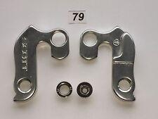 Deragliatore POSTERIORE #79 Argento Mech Gear Hanger in alto Drop Out per Moto Scott