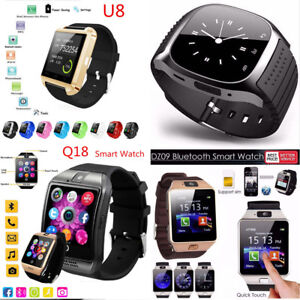 2017-Bluetooth-Smart-Watch-SIM-Phone-Mate-Waterproof-For-IOS-Samsung-Android-New