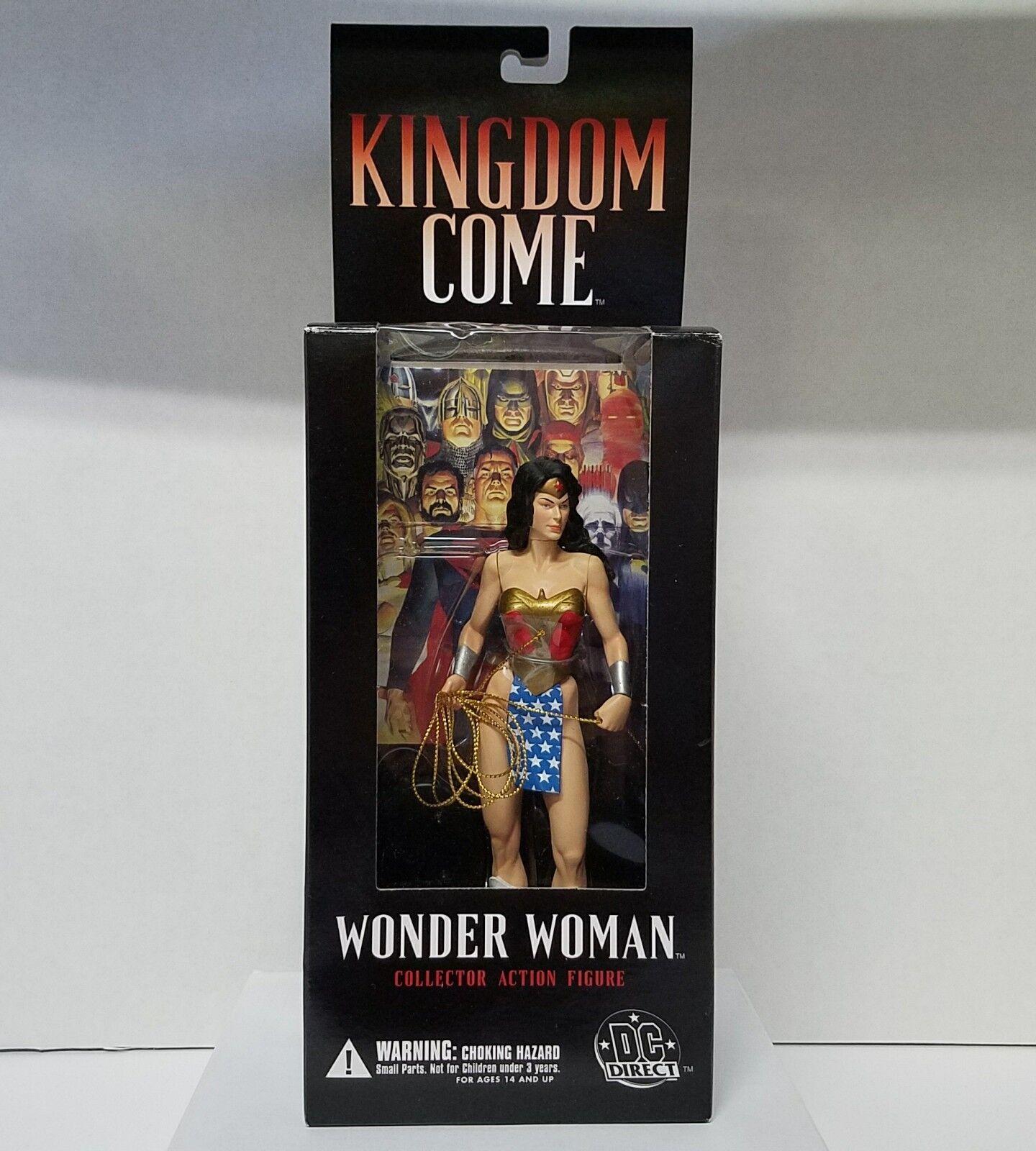 DC Direct Wonder Woman 2003 Kingdom Come Collectible Action Figure
