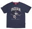 INDIAN MOTORCYCLE MENS NAVY BOMBER GIRL PRIDE SS TEE RETRO PIN UP M L XL 2X 3X