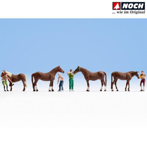 NOCH 15632 H0 Pferdepflege + NEU /& OVP