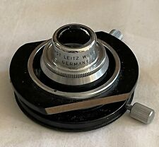Leitz Ortholux Microscope Darkfield Condenser D120 A