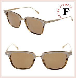 663731e89714 DITA OAK 2085 BT Amber 18K Gold Titanium Antique Mirrored Sunglasses ...
