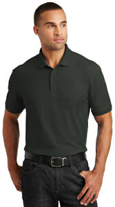 Port-Authority-Men-039-s-Short-Sleeve-Tall-Core-Classic-Pique-Polo-Shirt-TLK100