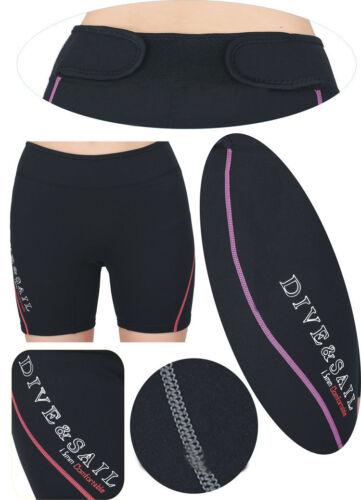 Women Mens Neoprene Wetsuit Rash Guard Swim Shorts Diving Snorkeling Surf Beach