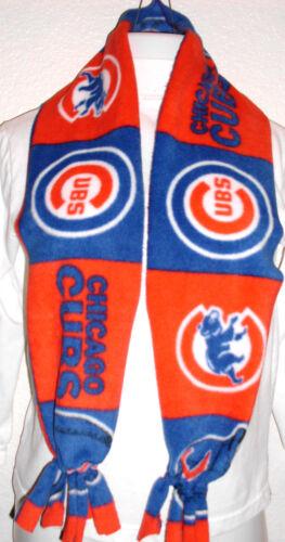 Handmade fleece scarf Listing # S102 Chicago Cubs