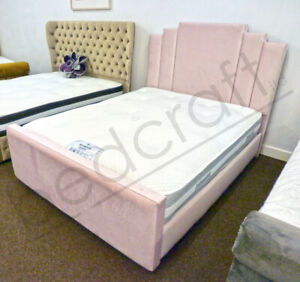 Tremendous Details About Manhattan Plush Gas Lift Ottoman Storage Bed Velvet Linen Chenille Leather Ibusinesslaw Wood Chair Design Ideas Ibusinesslaworg