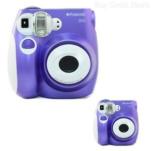 Details about Polaroid PIC-300 ANALOG CAMERA, Instant Built In Flash FILM  CAMERA, Purple - NEW