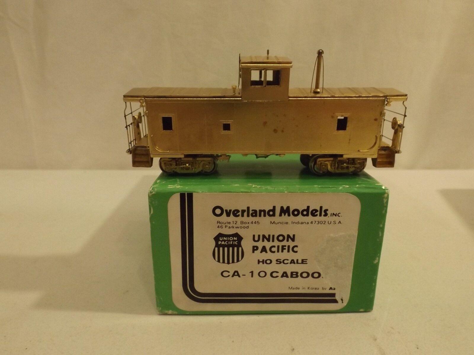 HO Overland Brass Union Pacific CA-10 caboose in original box