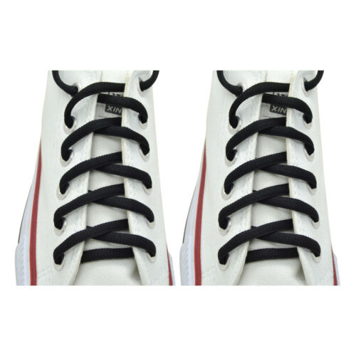"""Sport Athletic Sneakers String /""""Black/"""" Shoelaces Oval 36/"""",45/"""""""