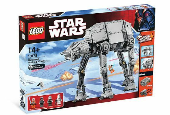 Nuevo Lego Star Wars Motorizado Caminar At-At 10178
