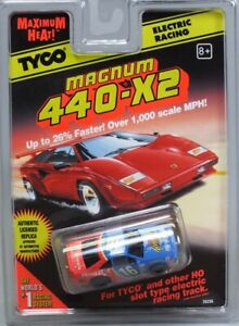 HO-Slot-Car-Tyco-440x2-Magnum-Ford-T-Bird-Primestar-NASCAR-39256
