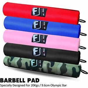 Barbell-Pad-Gel-supporta-Squat-OLYMPIC-Bar-Peso-Sollevamento-Tirare-Su-Gripper