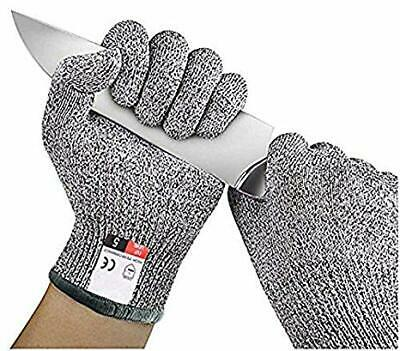 Cut Resistant Butcher Gloves Anti-cutting Safety for Kitchen Outdoor Explore SML