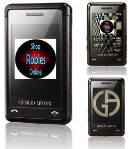 Samsung-SGH-P520-Giorgio-Armani-Original-Ohne-Simlock-3-2MP-TOUCH-SEHR-GUT-OVP