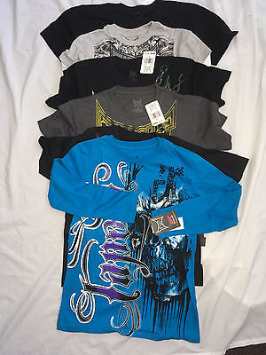 TAPOUT Boys T shirt crew Small Medium Large XL 8 10 12 14 16 18 20 New MMA UFC