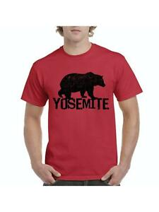 Yosemite-Park-T-Shirt-Home-of-Giant-Sequoia-Trees-and-California-Bear-T-Shirt