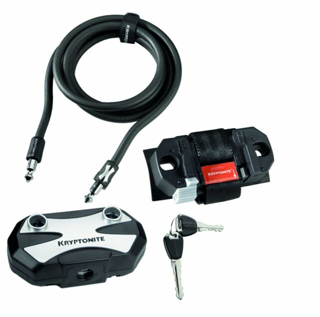 """Kryptonite Modulus 1018A Cable Bicycle Security Chain Lock 6/' x 3//8/"""" 180cm 10mm"""