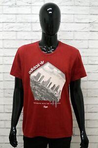 Maglia-ADIDAS-Uomo-Taglia-Size-M-Maglietta-Shirt-Man-Cotone-Manica-Corta-Regular