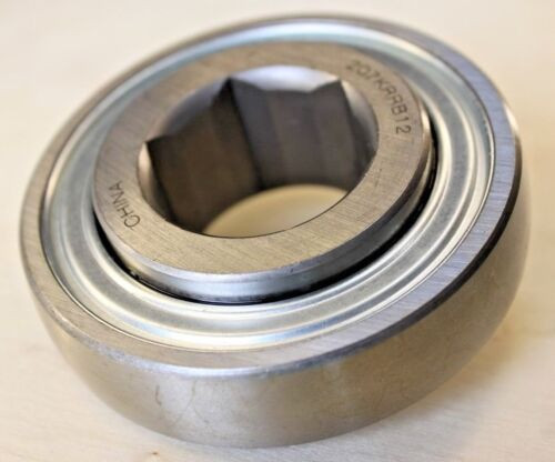 "Premium New 207KRRB12 AG Bearing 1-1//8/"" Hex BoreCase//IH 1420 1440 JD AN102010"