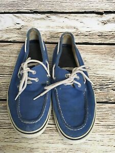 Sperry-Top-Siders-Mens-10-Blue-Deck-Boat-Shoes