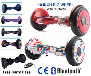 "Hoverboard Scooter électrique Self Balancing Scooter 10"" Pouces Bluetooth"