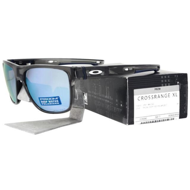 eabf0c824d Oakley OO 9360-0958 Polarized Crossrange XL Grey Smoke Prizm Deep H2o  Sunglasses for sale online