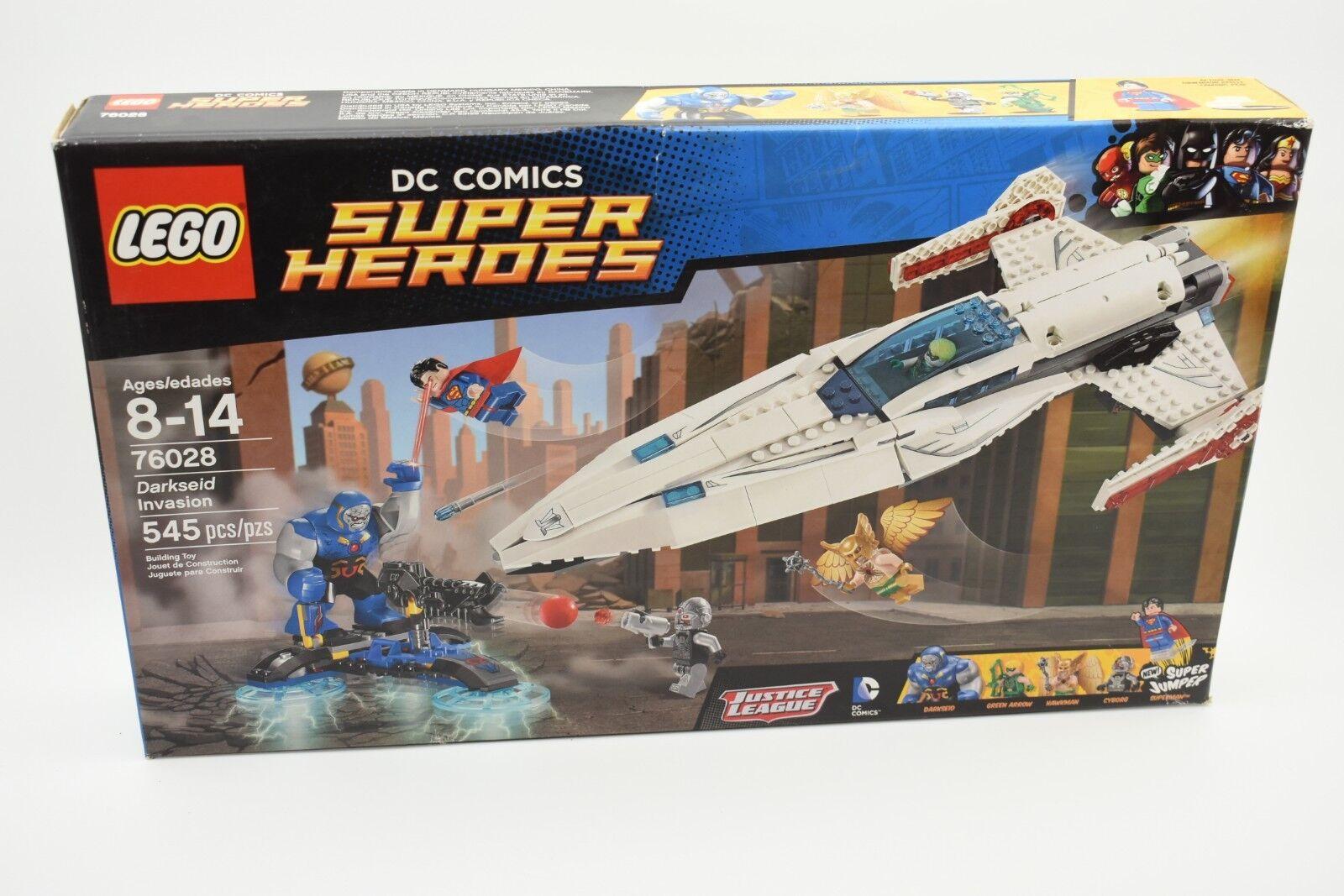 Lego súper Heroes 76028 Darkseid Invasión Dc súperman Cyborg Nuevo Sellado Caja