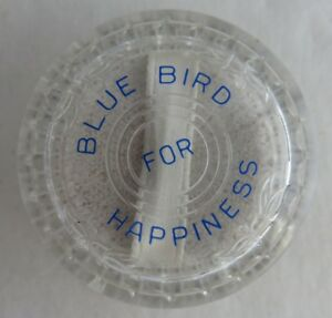 VINTAGE BLUE BIRD RECORDS NEEDLE PLASTIC CASE     (INV2480)